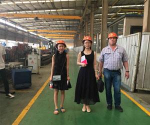 Клиент из России посетил Aicrane завод