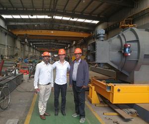 Клиент из Малайзии посетил Aicrane завод