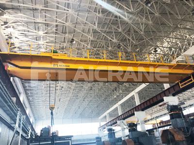 Двухбалочный мостовой кран 32 тонн в Узбекистане