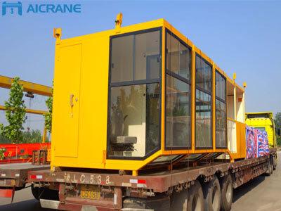 Aicrane 5шт. двухбалочный мостовой кран отгрузили в Россию