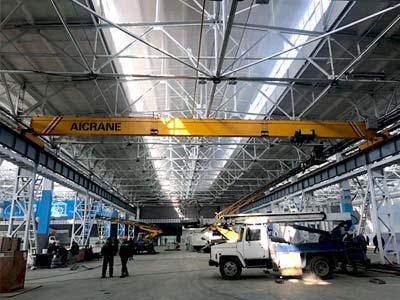Европейский мостовой кран 10 тонн в Узбекистане