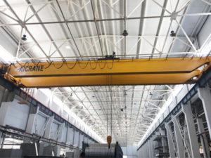 2 шт. Aicrane Европейский мостовой кран установили на заводе Узбекистана
