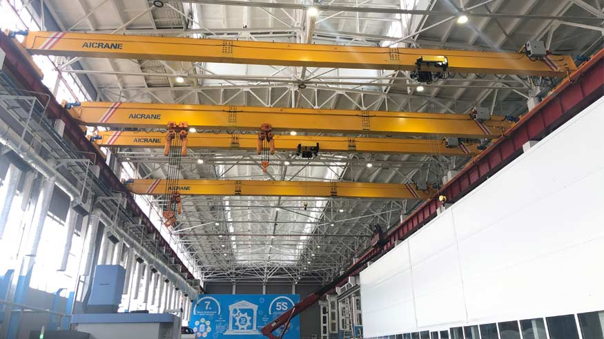 4 шт. Мостовой кран 10/16 тонн