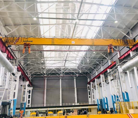 Мостовой кран 10/16 тонн