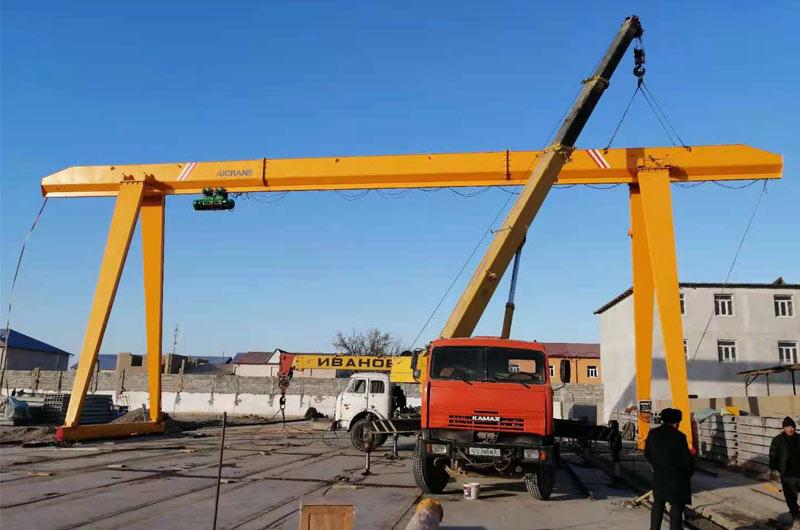 Козловой кран 10 тонн